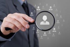 Icon of employment recruiter