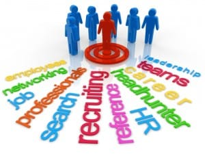 Employment Agencies Recruiting Concept